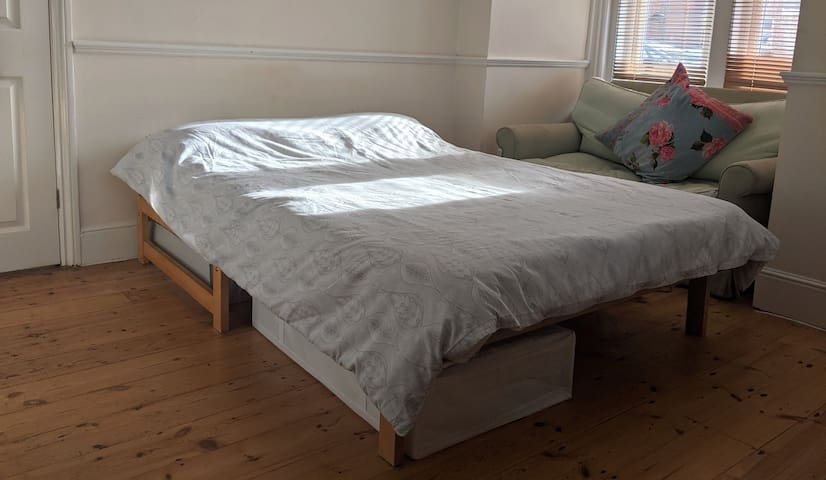 Simple, comfortable double room.