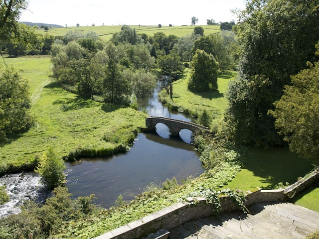 River Wye at Haddon Hall