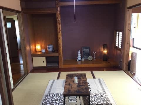 Mocha House モカ ハウス:霧島山のふもとで安らぎの週末を...! 宮崎県都城市金田町。