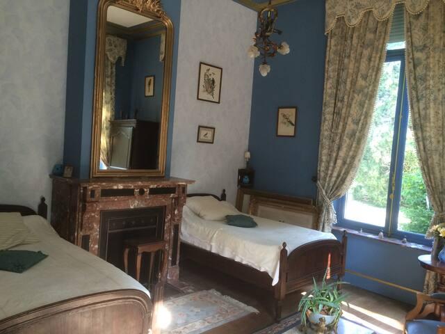 Château de Colagnie, chambre OISEAUX (twin)
