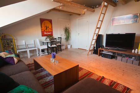 Charming loft flat/ great location - Oslo