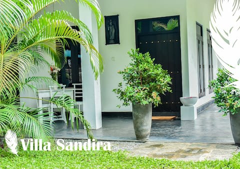 Villa Sandira, a modern  Sri Lanka house