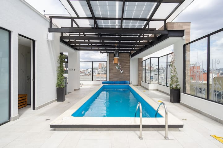 Jacuzzi,Piscina(Pool)Sauna,Turco Luxury SuiteQuito