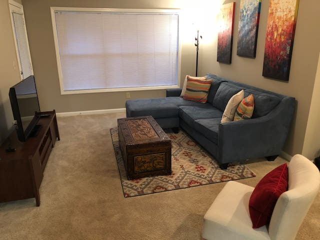 Cozy Private 2 Bedroom by Braves Stadium/Battery