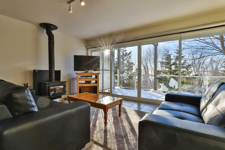 Sommets Charlevoix Condo-Chalet 59 - Bas