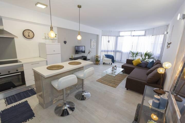 Apartamento en El Médano. Cerca de la playa.