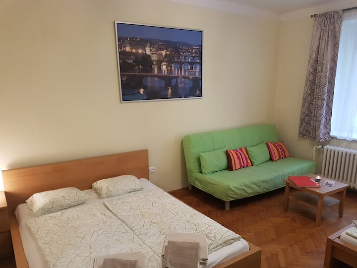 P1 Cozy apartment 5 min. to centre by metro