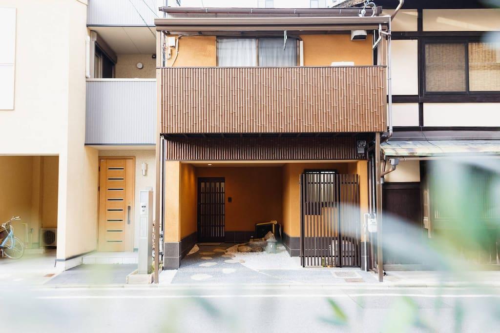 民宿外观(the exterior of the house)