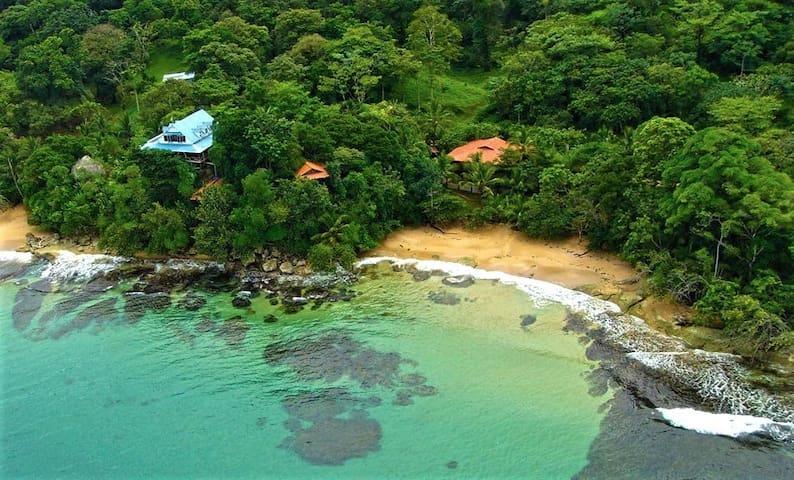 Private cabin over the sea
