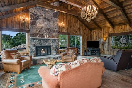 Masterpiece in the Rockies - Stunning Estate with Gorgeous Mountain Views! -- EV #3237