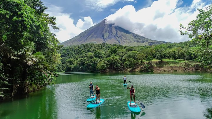 Arenal Volcano view camping Lodge and Hot Springs2