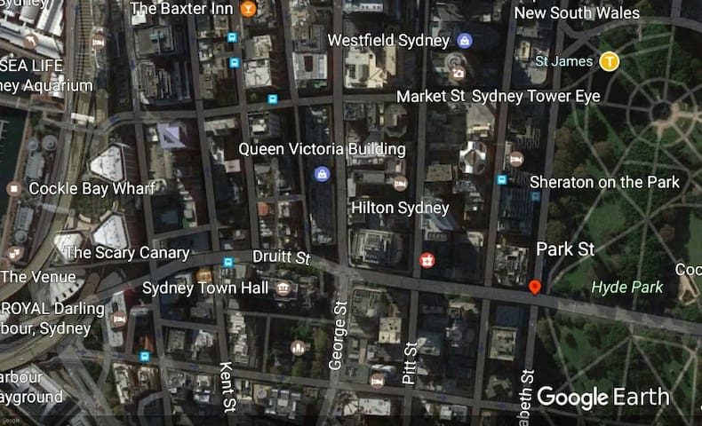 Fantastic location in the heart of Sydney CBD