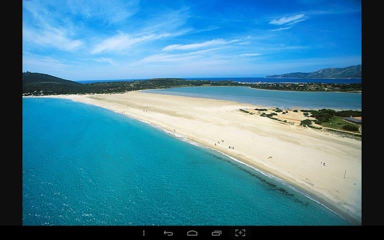 Spiaggia di PortoGiunco a due passi - Villasimius  - Dom