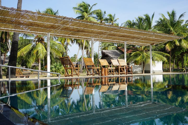 Resort with kite center