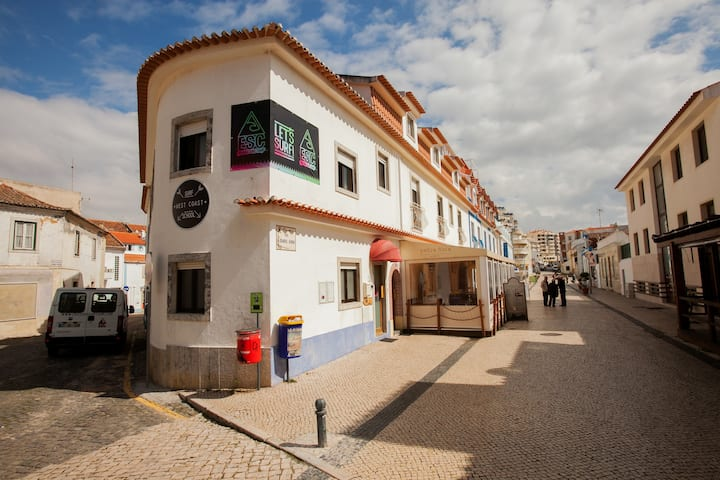 Meet us in front of Ericeira Surf Camp