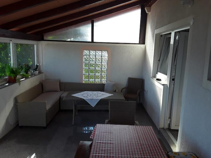 One bedroom apartment with terrace Sosi, Umag (A-15967-b)