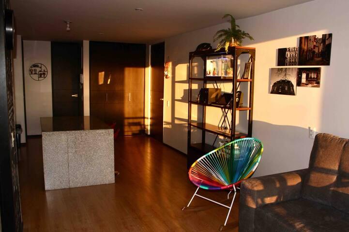 Cómoda habitación en Bogota/cozy room at Bogota