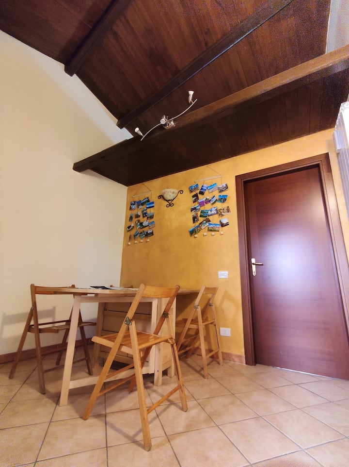 Apartment with one bedroom in Ischia di Castro, with terrace - 5 km from the beach