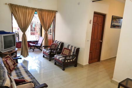Cosy furnished home. Mapusa - Calangute, Goa.