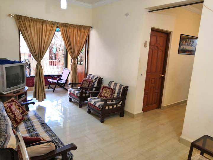 Cosy furnished home. Mapusa - Calangute, Goa.
