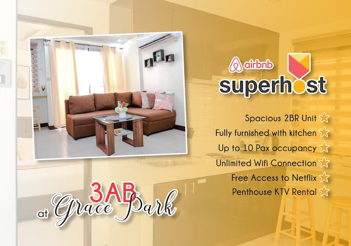 We are your Airbnb Superhost at Grace Park, Caloocan City!