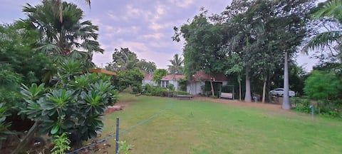 Farm Stay: Quick Getaway from City Life (2BHK)