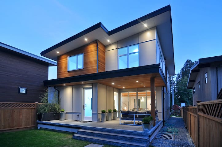 Modern Westcoast Family Home - North Vancouver - Casa