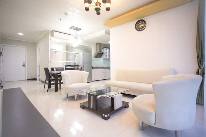 Apartemen Keluarga 3KT Luas&Nyaman @Ciputra World