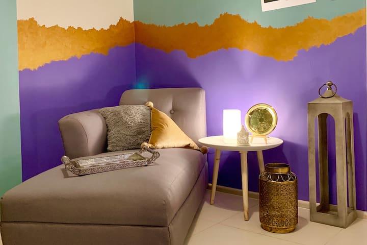 1 Bedroom Moroccan Riad @Circulo Verde