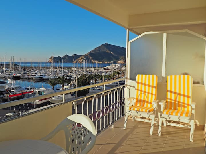 New apartment 3C in Altea with harbour views