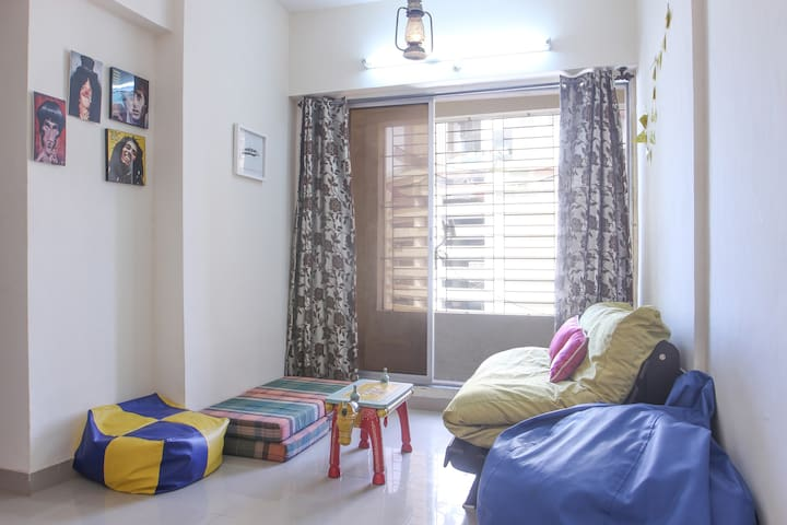 The big on chill pad at Lower Parel - Mumbai - Appartement