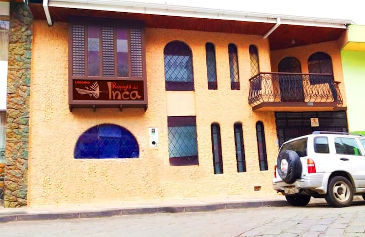 Refugio del Inca, Hospedaje