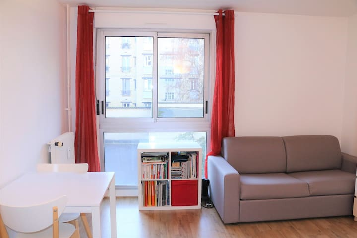 Lovely apartment 10' from Paris