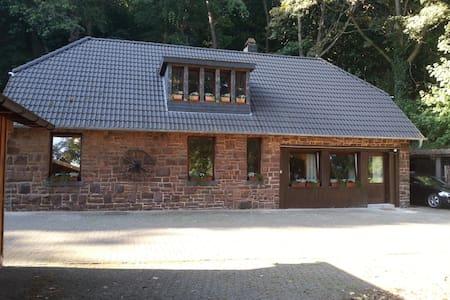 gemütliches Bruchsteinhaus am Rande der Eifel - Schleiden - Haus