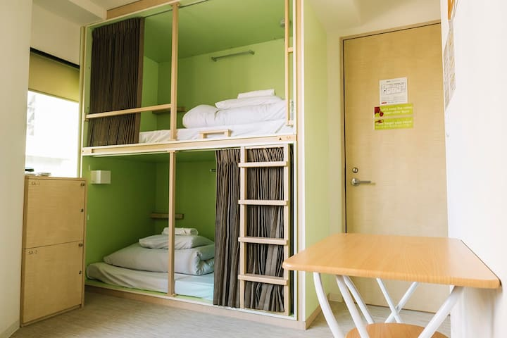 [Planetyze hostel] Twin Room (Bunk Bed Style)