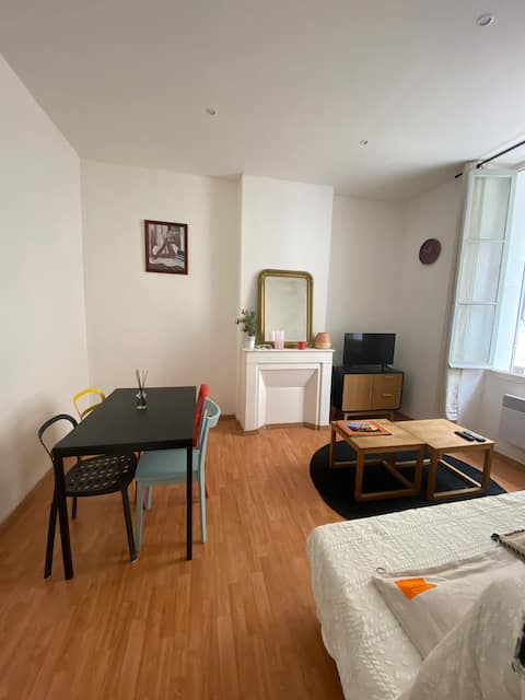 Lovely studio in the heart of the city