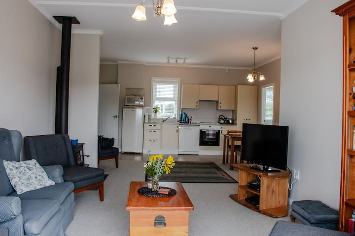 Living and Kitchen area