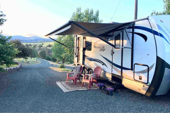 Glamping at Ausland Acres