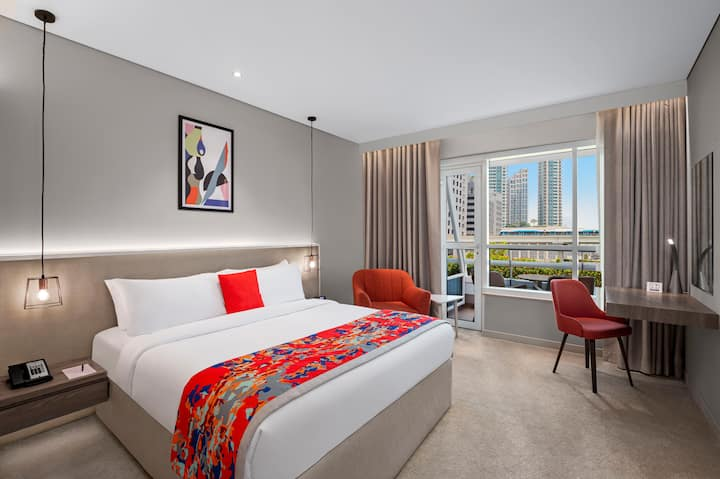 One Bedroom Apartment with Burj Khalifa View