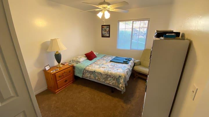 Clean Comfy Cozy Space