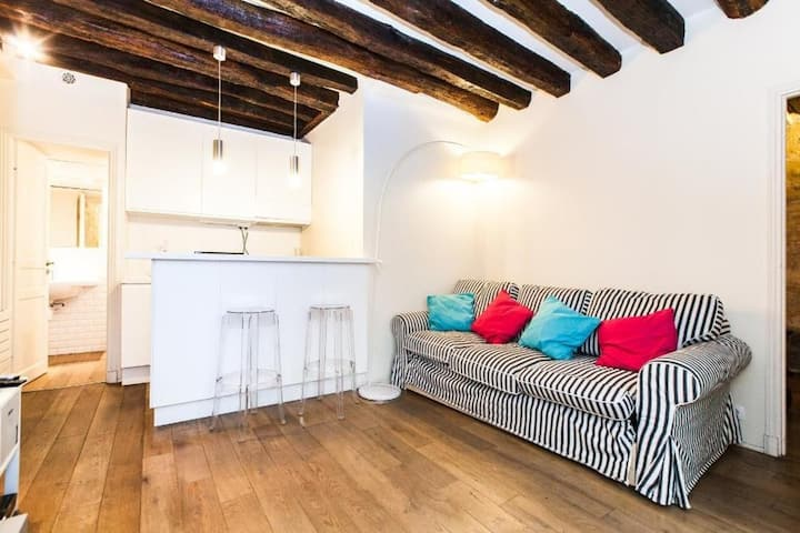 Lovely 1br close to Les Halles 1670 - 09e1b50f