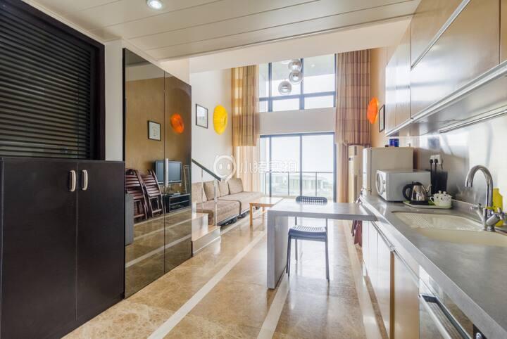 近小梅沙 独立私家海滩海景公寓可住2-4人