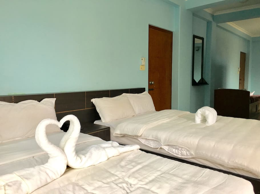 Family room suitable for 5 persons