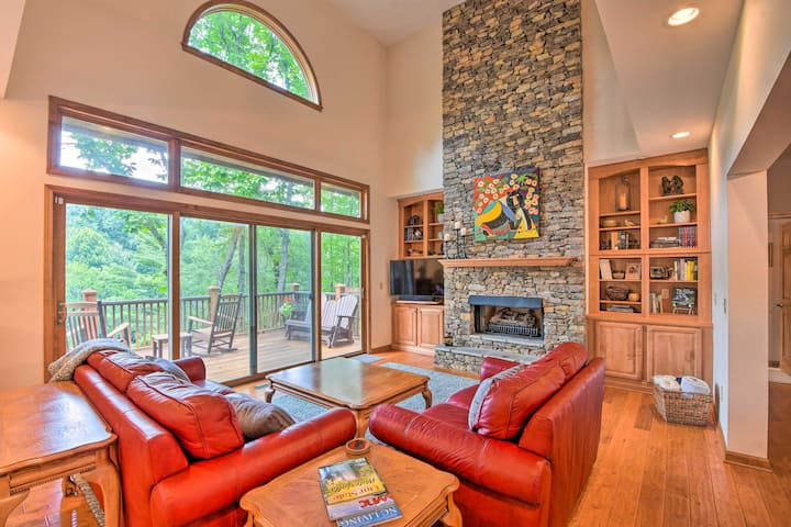 NEW! Quiet Riverfront Escape w/ Deck & Fly Fishing