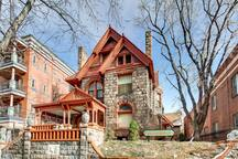 Famous Molly Brown house is one block away