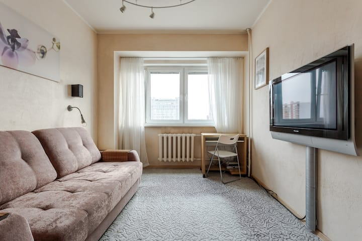 A-studio 2-rooms apartment with panoramic view