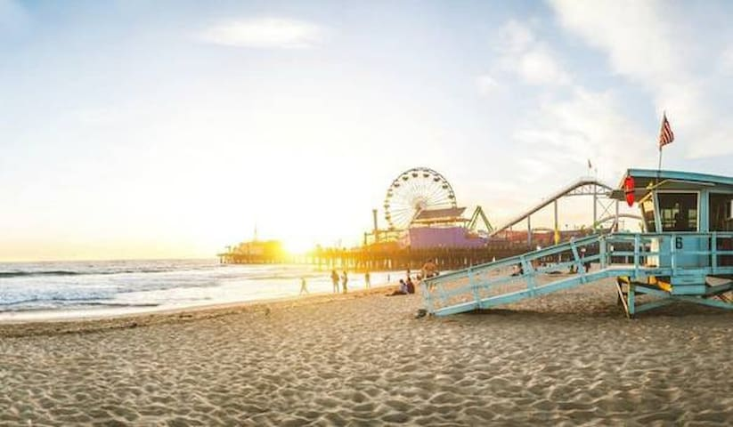 Modern Santa Monica Beach Rental