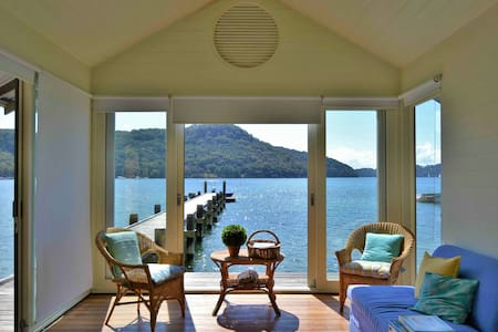 Breathtaking, private, luxury home on Pittwater - Ku-Ring-Gai Chase - Hus
