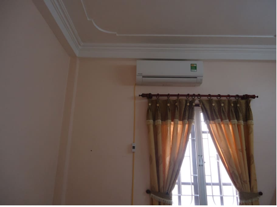 New Air Conditioner and good quality (room 3)