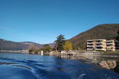 Green Lake Flat, Lugano lake, 10min from Lugano - Maroggia - Wohnung